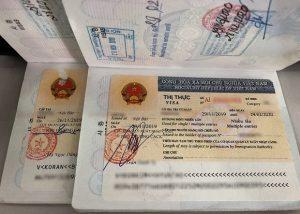 Xin visa cho chồng người nước ngoài