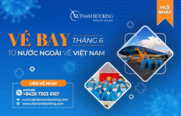[Tin HOT Tháng 6] Thông tin lịch bay các chuyến bay quốc tế về Việt Nam
