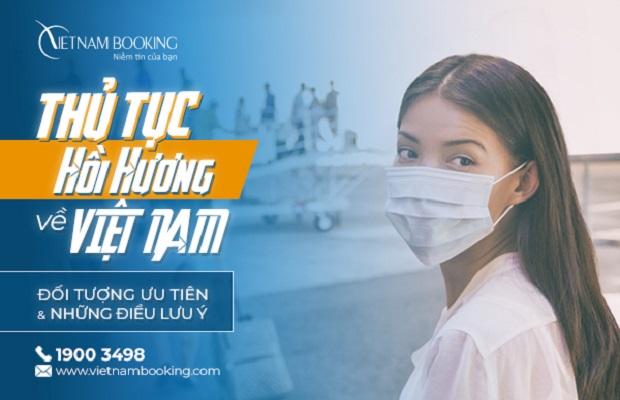 Thủ tục hồi hương về Việt Nam | Nhập cảnh tháng 6/2021