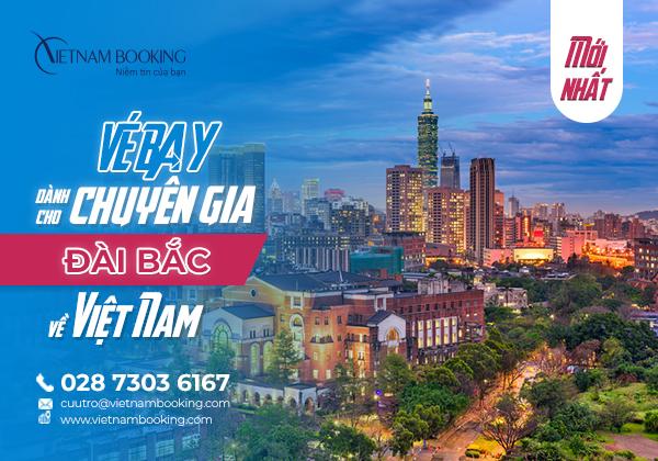 Chuyến bay đón chuyên gia từ Đài Loan về Việt Nam   Lịch Bay Tháng 9