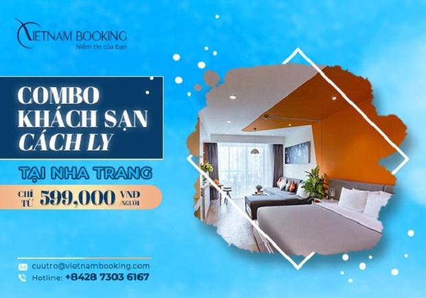 đăng ký khách sạn cách ly trong danh sách khách sạn cách ly tại Cam Ranh