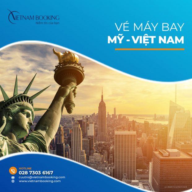 Vé máy bay từ Mỹ về Việt Nam – Lịch bay mới nhất tháng 6/2021