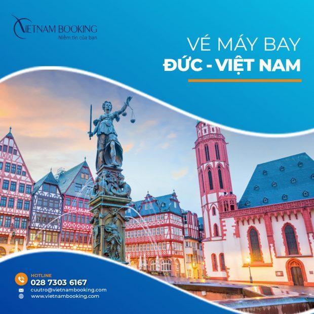 Cập nhật các chuyến bay từ Đức về Việt Nam – Lịch bay tháng 6