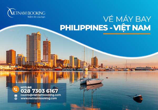 Vé máy bay từ Philippines về Việt Nam | Thông tin lịch bay tháng 9