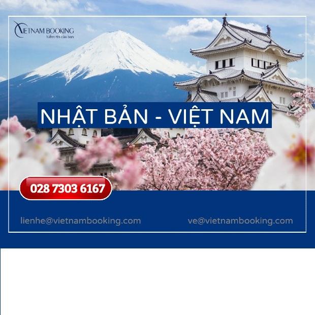 Vé máy bay từ Nhật Bản về Việt Nam, thông tin chuyến bay tháng 6
