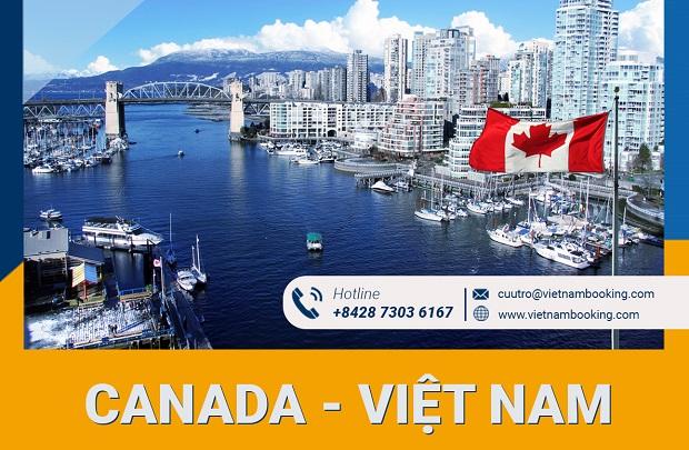 Vé máy bay từ Canada về Việt Nam   Cập nhật lịch bay tháng này