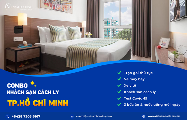 Combo Khách sạn cách ly 21 ngày tại TP.HCM