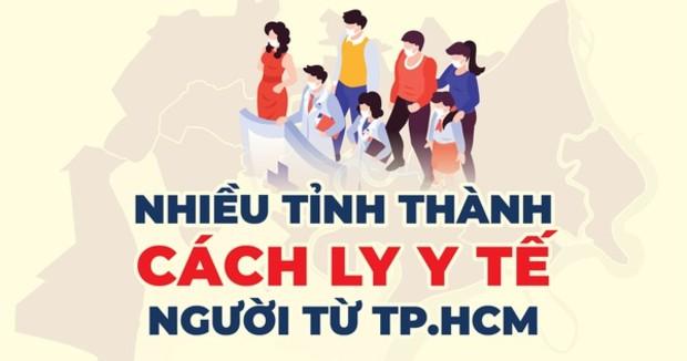 Quy định cách ly người về từ TP HCM | Cách ly bao lâu, ở đâu?