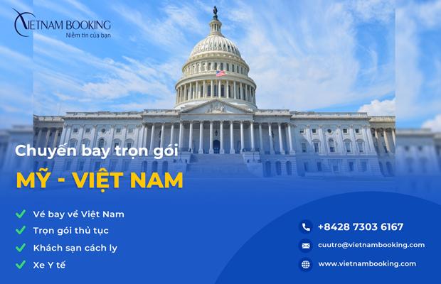 Chuyến bay từ Mỹ về Việt Nam, Trọn gói khách sạn cách ly