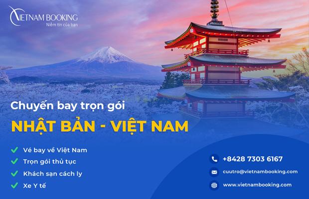 [Đặt Gấp] – Chuyến bay từ Nhật Bản về Việt Nam Tháng 9