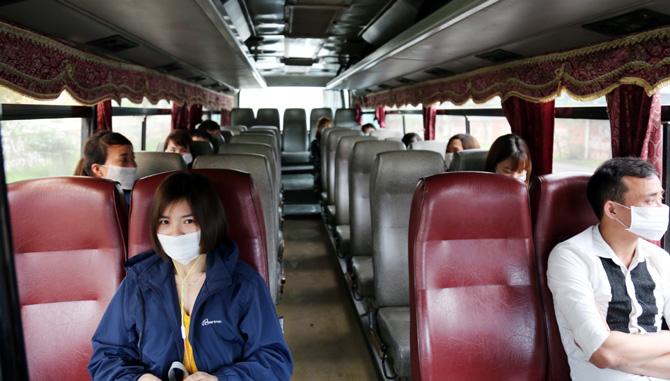 xe đưa đón hành khách trong mùa dịch covid 19