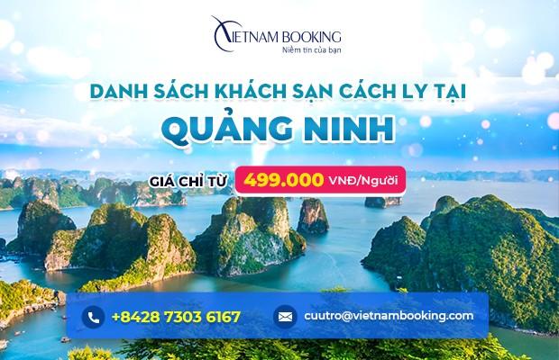 Đặt khách sạn cách ly tại Quảng Ninh