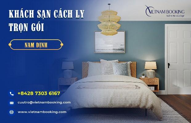 Đặt phòng khách sạn cách ly ở Nam Định