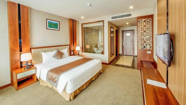 Phòng khách sạn cách ly tại Bắc Ninh