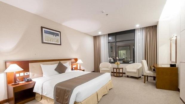 Phòng khách sạn cách ly tại Lào Cai