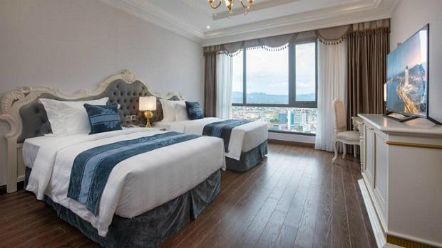 Phòng khách sạn cách ly tai Quảng Bình