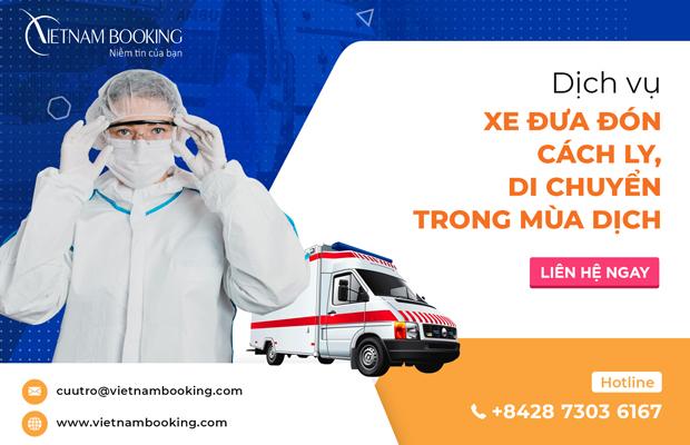 Dịch vụ khách sạn cách ly tại Thanh Hóa và xe đưa đón
