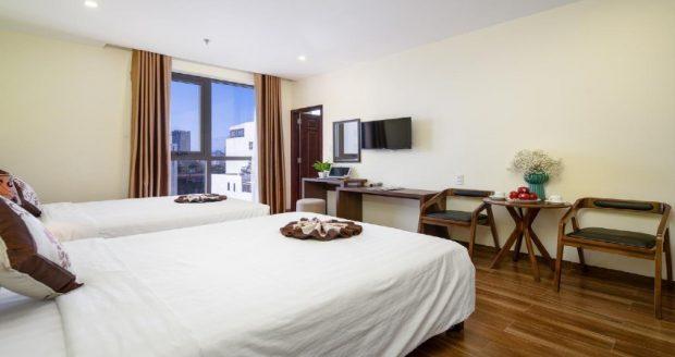 Tiện nghi tại khách sạn cách ly tại Bình Định