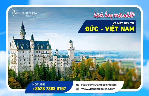 Cập nhật các chuyến bay từ Đức về Việt Nam – Lịch bay tháng 10
