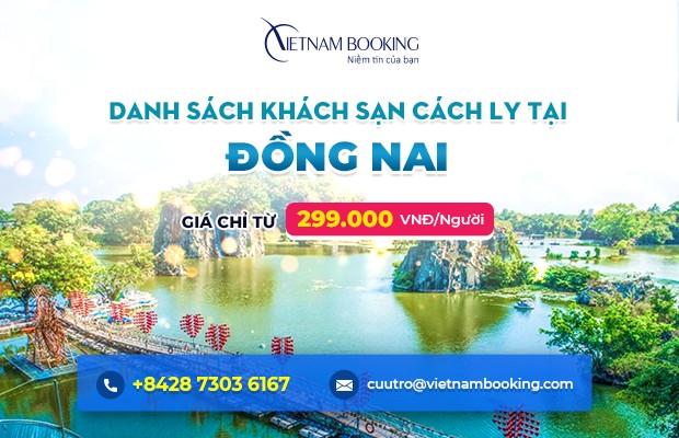 Đặt khách sạn cách ly tại Đồng Nai