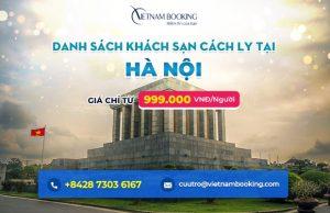 Công bố giá và danh sách 20 khách sạn cách ly tập trung tại Hà Nội