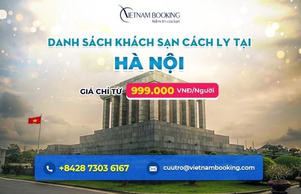 Đặt khách sạn cách ly tại Hà Nội – Danh sách và bảng giá chi tiết