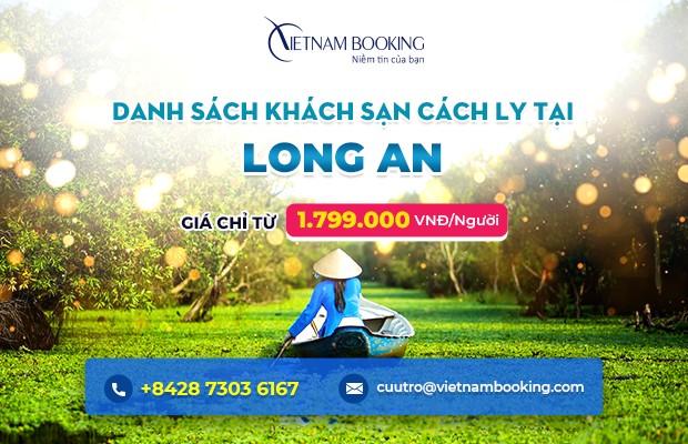 Đặt khách sạn cách ly tại Long An