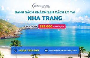 Đặt khách sạn cách ly tại Nha Trang Khánh Hòa – Danh sách và bảng giá chi tiết