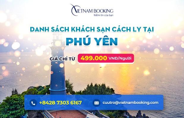 Đặt khách sạn cách ly tại Phú Yên
