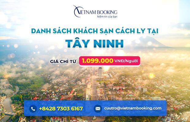 Đặt khách sạn cách ly tại Tây Ninh