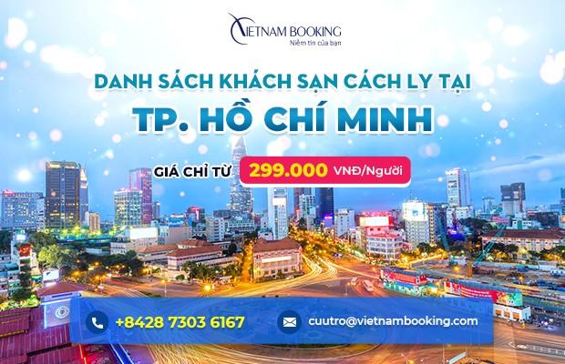 Đặt khách sạn cách ly tại Hồ Chí Minh – Danh sách và bảng giá chi tiết
