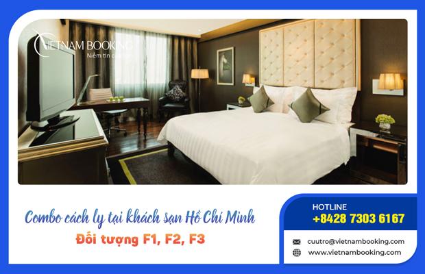 Đặt khách sạn cách ly cho F1 F2 F3 và F0 không có triệu chứng tại Hồ Chí Minh